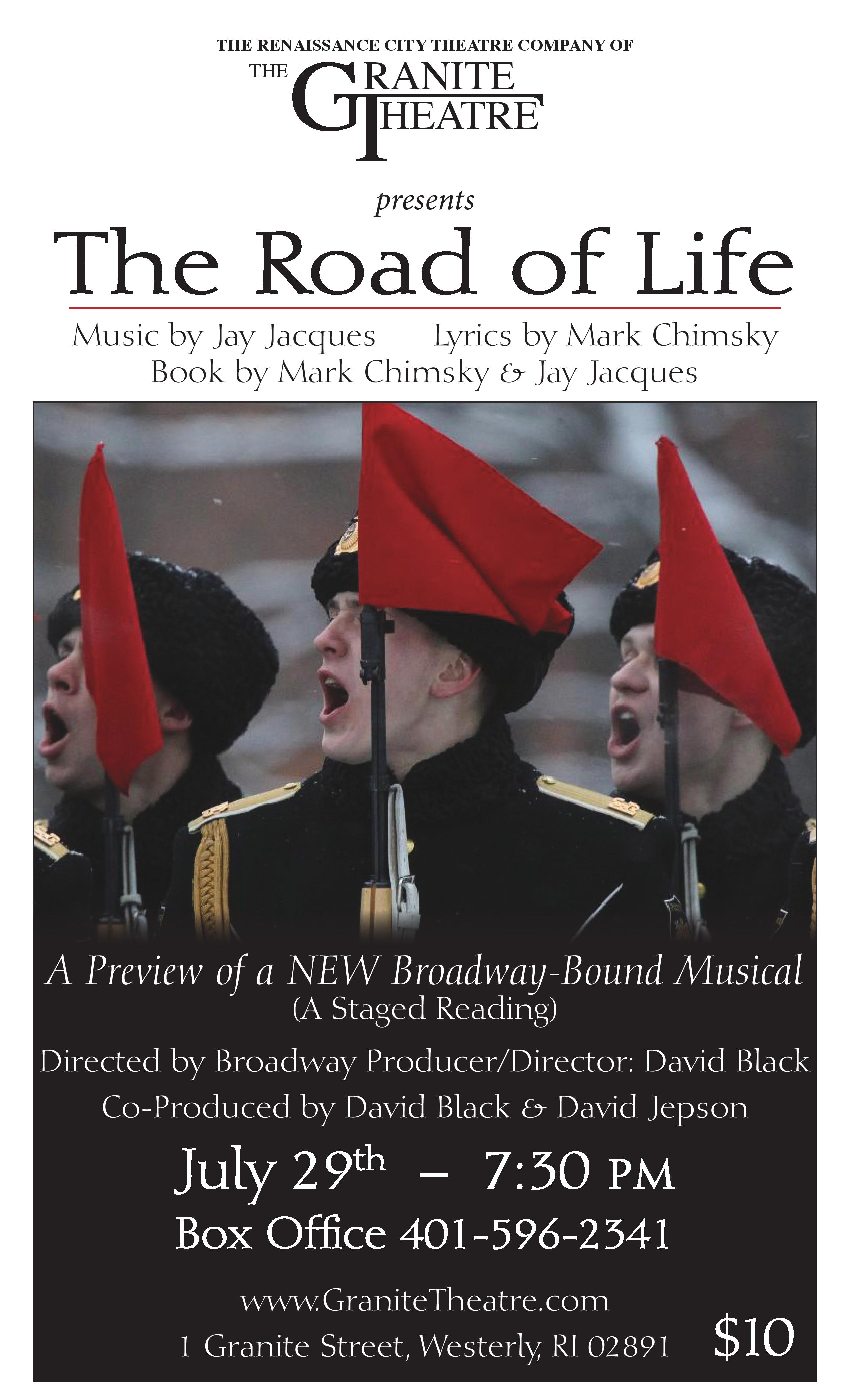 Road of Life Granite Theatre poster 7-14(2)-page-001
