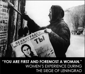 You are first and foremost a woman